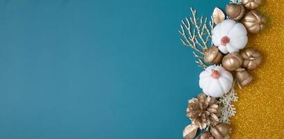 arrière-plan créatif d'automne avec espace de copie photo