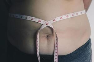 corps humain et corps gras, panse ou ventre et surpoids des personnes. photo