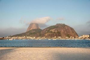 crique de botafogo à rio de janeiro, brésil. photo