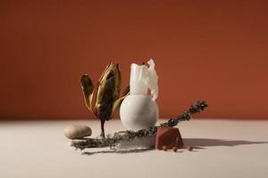 l'assortiment de natures mortes d'automne photo