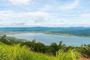 vue sur le barrage de lamtakong photo