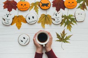 une préparation pour halloween photo