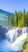 rjukandefossen hemsedal viken norvège la plus belle cascade d'europe. photo