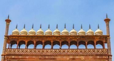 taj mahal agra inde grande porte rouge architecture détaillée étonnante. photo