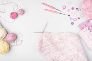fournitures de tricot à plat 2. résolution et belle photo de haute qualité