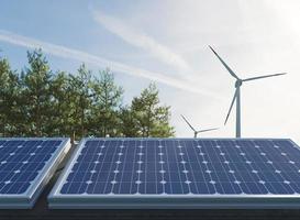 Les panneaux solaires 3D projettent des économies d'énergie. photo