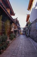Maison naxi dans la vieille ville de Lijiang, province du Yunnan, Chine photo