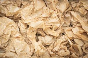 papier brun de texture de fond avec des rides photo