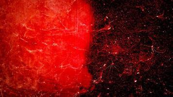 Texture de vieilles toiles d'araignées rouges photo