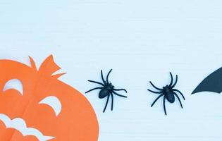halloween sur le concept de décoration murale photo