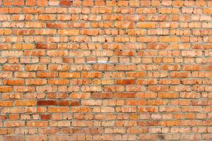 fond de mur de brique rouge photo