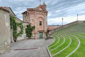 l'auditorium horszowski, monforte d'alba, langhe italie. site de l'unesco. photo