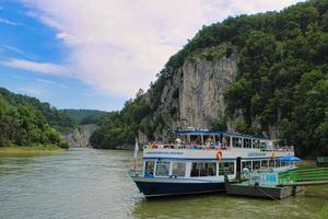 allemagne, 2021 - excursion en bateau de kehlheim à weltenburg sur le Danube photo