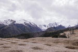 meili snow mountain kawa karpo situé dans la province du yunnan, chine photo