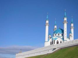 Complexe historique et architectural du kremlin de kazan kazan russie photo