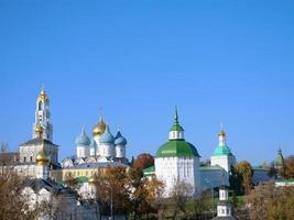 trinity sergius lavra à sergiev posad à moscou russie photo