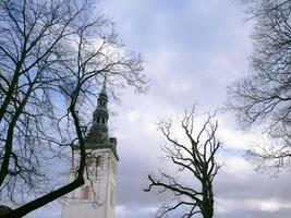 paysage centre historique vieille ville de tallinn, estonie photo