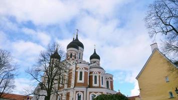 Cathédrale Saint-Alexandre Nevski à Tallinn, Estonie photo