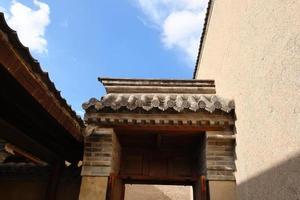 musée des arts populaires de tianshui maison folklorique hu shi, gansu chine photo