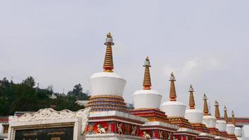 Monastère de Kumbum, temple Ta'er à Xining en Chine. photo