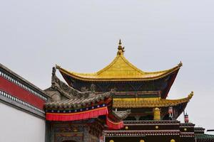 Monastère de Kumbum, Ta'er Temple Xining Qinghai Chine. photo