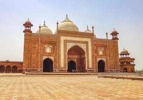 taj mahal mahal kau ban mosquée agra uttar pradesh inde. photo