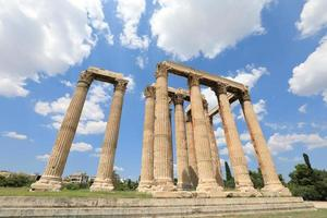 temple de zeus olympien, athènes grèce photo