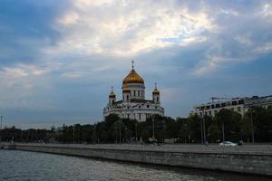 cathédrale du christ sauveur à moscou photo