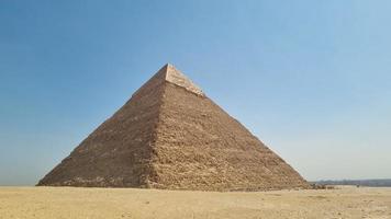 la pyramide du pharaon khafre photo