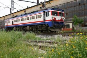 locomotive électrique qui fonctionne avec de l'énergie propre photo