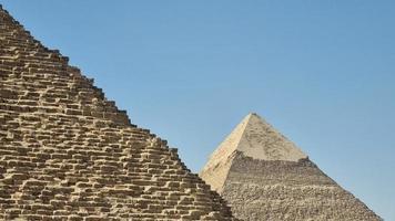les grandes pyramides d'egypte photo