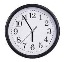 grande horloge montre cinq à six photo