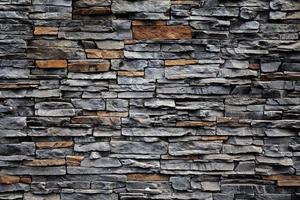 vieux mur de briques d'une pierre photo