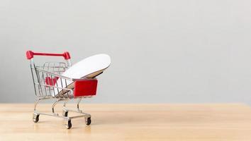 service de livraison de logistique de transport d'achats en ligne et de commerce électronique photo