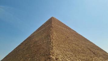 la grande pyramide de gizeh photo