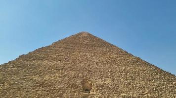 la pyramide de khufu de gizeh photo