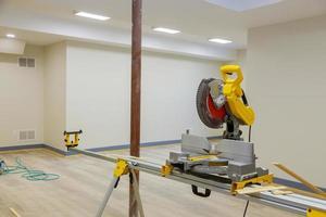 intérieur de maison en construction photo