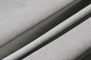 fond de texture de tissu de toile froissée photo