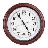 bureau 24 heures sur 24 indique près de cinq heures photo