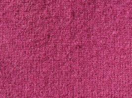 fond de texture de laine violette photo