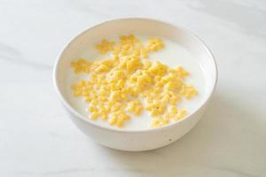 céréales au lait frais photo