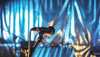 microphone pour chanteur photo