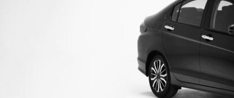 vue latérale de pièces de carrosserie de voiture. pièces de voiture automobile telles que la roue de fenêtre photo
