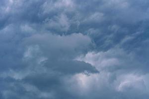 beau ciel nuageux photo
