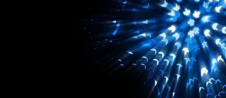 fond abstrait bokeh bleu photo