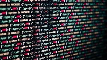 écriture de code html photo