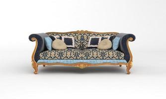 canapé vue meubles rendu 3d photo