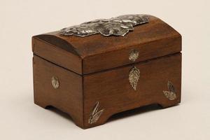 Istanbul, Turquie, 2021 - boîte à bijoux en bois photo