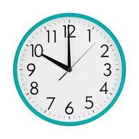 dix heures sur un cadran d'horloge photo