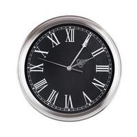 deux heures cinq minutes sur l'horloge photo